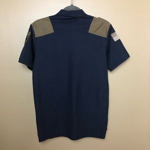 American Breed Shirts - American Breed Men's Army Top Sz M